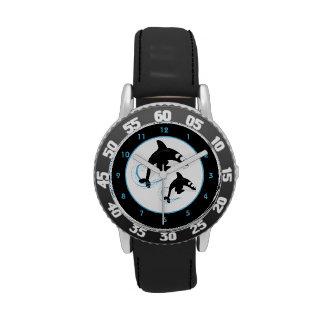 Épaulard d'orque montres