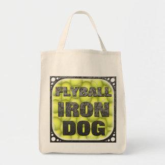 Épicerie organique Fourre-tout de chien de fer de Tote Bag