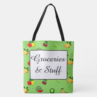 Épiceries et sac fourre-tout à épicerie de