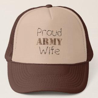 Épouse fière d'armée casquette