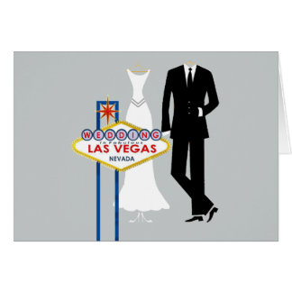 Épouser dans la carte de jeune mariée et de marié