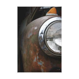 Épreuve photographique rouillée de toile de phare