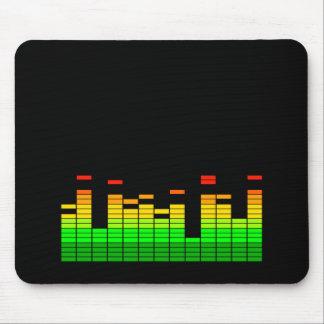 Equaliser Vibes van Grafisch Beat van de Muziek Muismat
