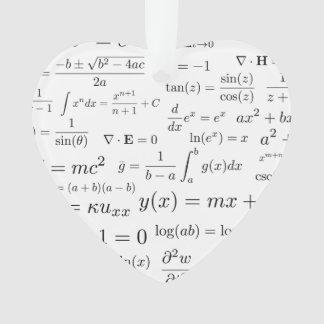 Équations d'ornement de maths et de la Science