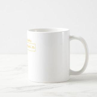 Équilibre blanc mug