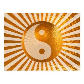 Équilibre de YIN YANG : A DOIT acheter pour Carte Postale