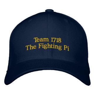 Équipe 1718 le casquette brodé par pi de combat