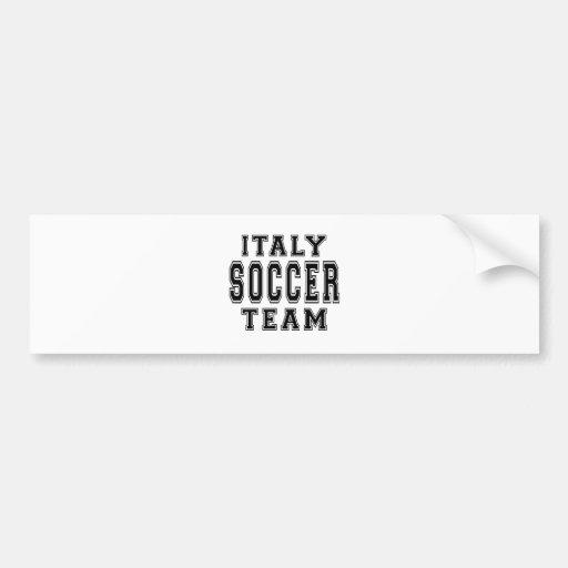 Équipe de football de l'Italie Adhésifs Pour Voiture