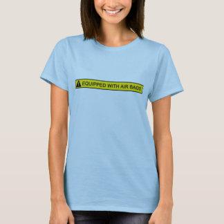 Équipé de la pièce en t humoristique de dames t-shirt