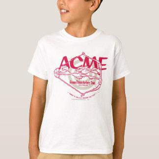 Équipe de tir à l'arc d'E. Coyote Grosse Pointe de T-shirt
