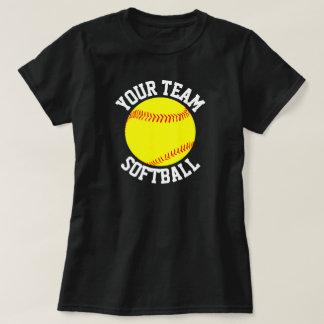 Équipe du base-ball, joueur et T-shirt de nombre