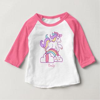 Ęr anniversaire de licorne t-shirt pour bébé