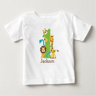 ęr T-shirt de jungle d'anniversaire