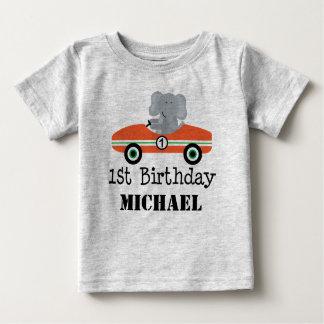 ęr T-shirt personnalisé de voiture de course