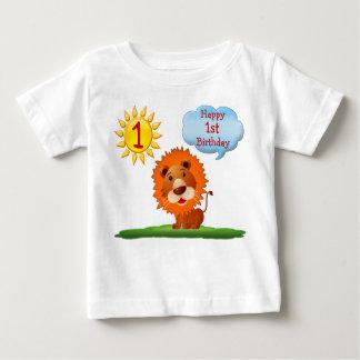 ęr T-shirts d'anniversaire pour des garçons avec