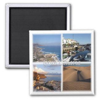 Es * L'Espagne - mamie Canaria - les Îles Canaries Aimant
