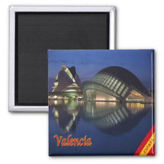 Es - Panorama de l'Espagne - de Valence Aimant