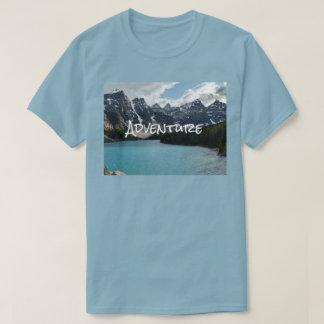 Escalade extérieure de photo d'aventure, t-shirt