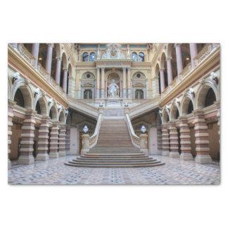 Escalier dans Justizpalast, Vienne Autriche Papier Mousseline
