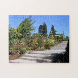 Escaliers en pierre par le puzzle de jardin