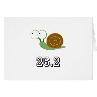 Escargot 26,2 (marathon) carte