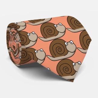escargot drôle cravate