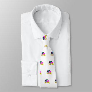 Escargot par espièglerie géométrique cravate