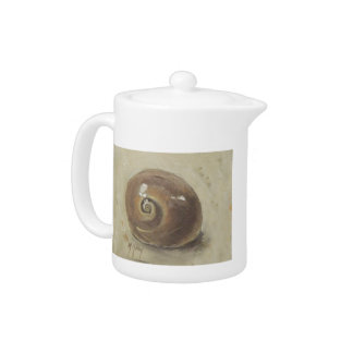 Escargot Shell de Moonshell de plage de coquillage