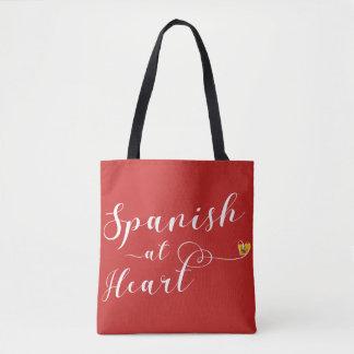 Espagnol au sac d'épicerie de coeur, Espagne