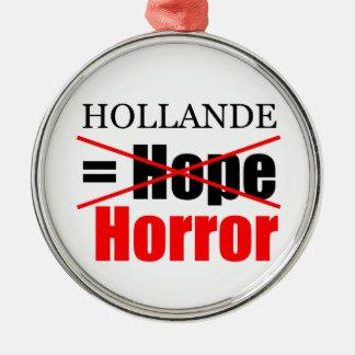 Espoir de Hollande pas = horreur - ornement de R