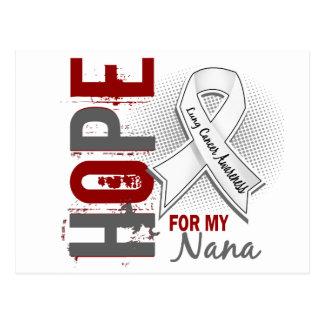 Espoir pour mon cancer de poumon de Nana Carte Postale