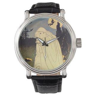Esprit de lune de batte de sorcière de fantôme montres