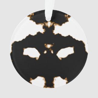 Essai de Rorschach d'une carte de tache d'encre