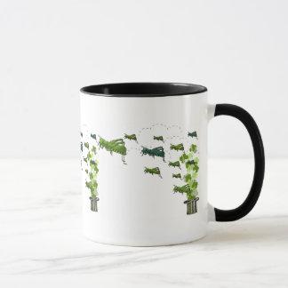 Essaim de sauterelle mug