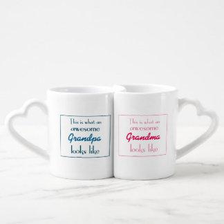 Est c'à ce que les grands-parents impressionnants mug