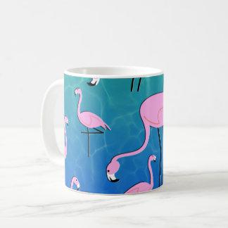 Étang de flamant mug