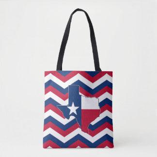 État blanc et bleu rouge de sac du Texas pour des