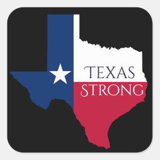 État de Harvey le Texas d'ouragan et autocollant