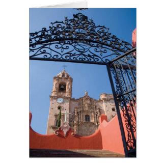 État de l'Amérique du Nord, Mexique, Guanajuato. Carte
