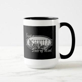 État de Nashville de noir d'Esprit-SLV tasse de