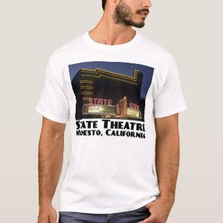 État, T-shirt de blanc de Modesto