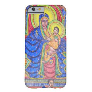 Ethiopian Art iPhone 6 van Madonna en van het Baby Barely There iPhone 6 Hoesje