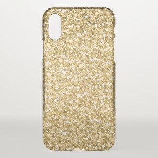 Étincelles simples de parties scintillantes et de coque iPhone x