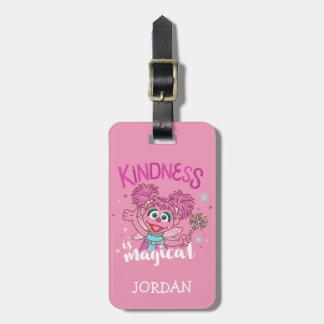 Étiquette À Bagage Abby Cadabby - la gentillesse est magique