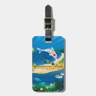 Étiquette À Bagage Aloha îles d'Hawaï de baie de Hanauma