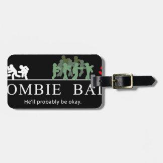 Étiquette À Bagage amorce de zombi
