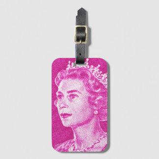 Étiquette À Bagage Australien vintage d'affranchissement de la Reine