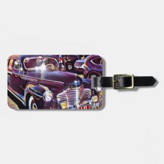Étiquette À Bagage Automobile IMG_9831 américaine classique