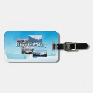 Étiquette À Bagage Baie de glacier d'ABH