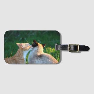 Étiquette À Bagage Baiser de Kitty